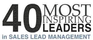 40 Most Inspiring Leaders in Sales Management