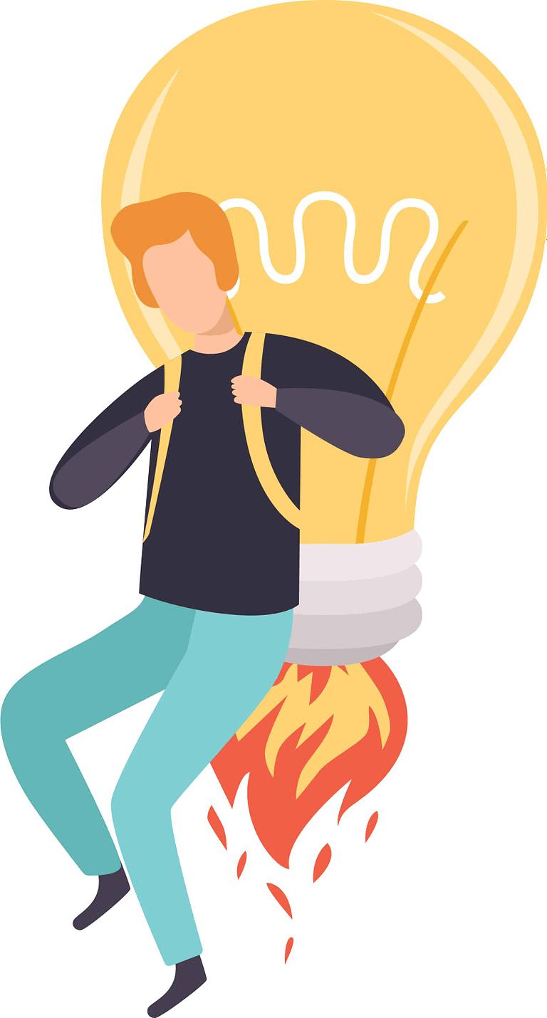 Light Bulb Idea Jetpack