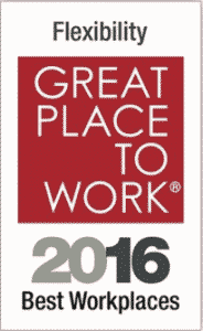 Great Place to Work 2016 Award