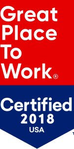 Great Place to Work Certification 2018